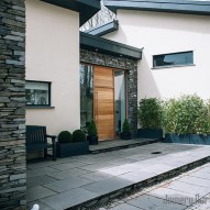 modern entrance doors - joinery northwest